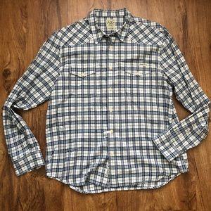 Lucky Brand XL Men's Plaid Shirt